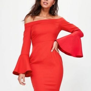 Dresses & Skirts - BNWT off shoulder dress