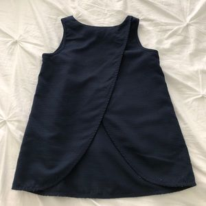 J. Crew overlapping shell top