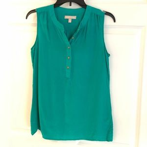 Banana Republic teal top