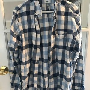 Men's Old Navy Flannel. Size Large