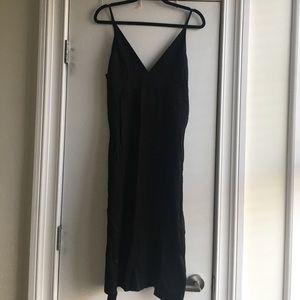 H&M Trend Black Slip Dress