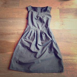 H&M button back dress