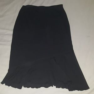 Mid length skirt