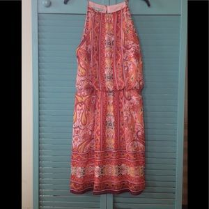 Red Paisley sundress