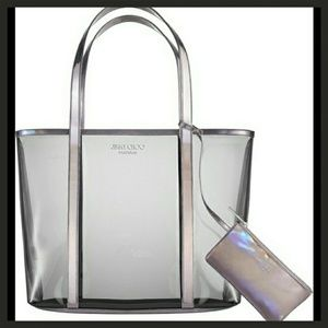 New Jimmy Choo Iridescent Tote