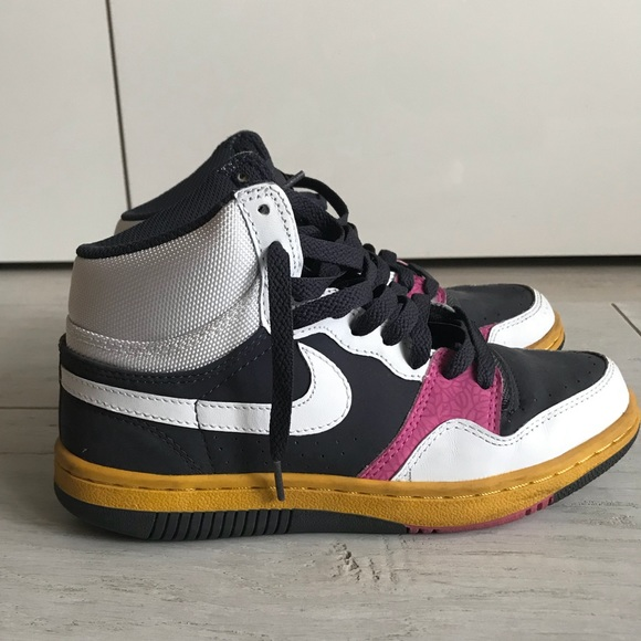 Multi colored Nikes