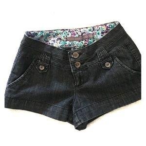 Pants - Jean short shorts