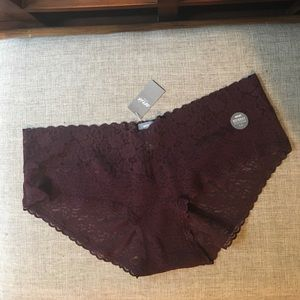 Lace boybrief undies (NWT!) aerie