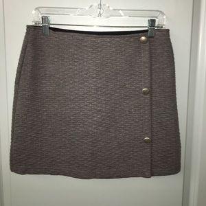 Grey skirt mini