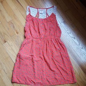Summer dress lace back