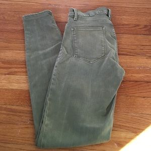Gap high wasted jeans