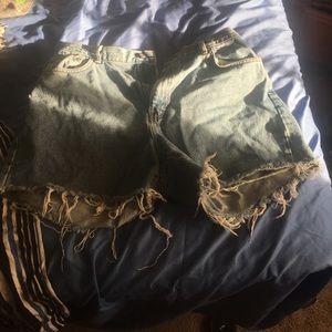 Customer Made Calvin Klein Mom shorts