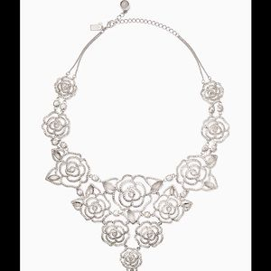 💎🎁KATE SPADE Crystal rose statement necklace🎉🎈