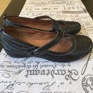 Naturalizer black leather shoes Like new