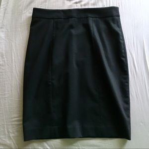 Club Monaco brand new black wool pencil skirt