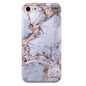 VELVET CAVIAR Grey & Gold Marble iPhone 6/6s Case