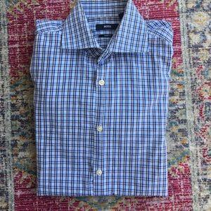 Boss Hugo Boss sharp fit  dress shirt 15.5 34/35
