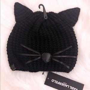 CHOUPETTE BLACK CAT BEANIE