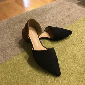 Chinese Laundry black/brown flats