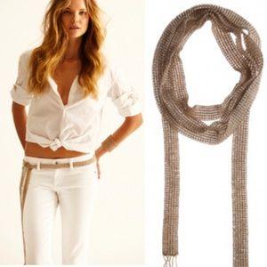 Chan Luu beaded scarf/belt