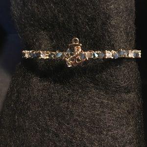 Water Blue Crystal Bracelet