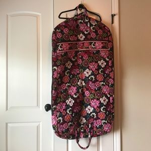 "Vera Bradley Hanging Garment Bag with ""Jennifer"""