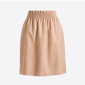 J. Crew Factory Wool Sidewalk Skirt