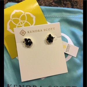 Kendra Scott Black Tessa Earrings