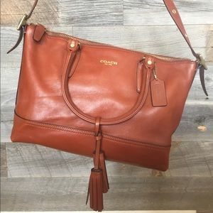 Coach Leather Satchel/Shoulder Purse