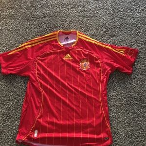 2006 Spain World Cup jersey