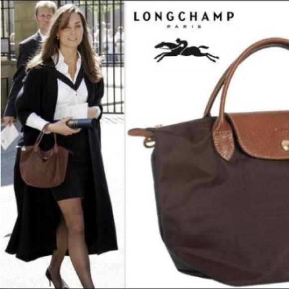 fb5395e25b93 Longchamp Handbags -  NWOT  Longchamp Brown Mini Le Pliage Handbag