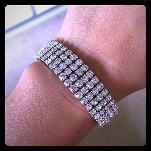 Charming Charlie rhinestone bracelet
