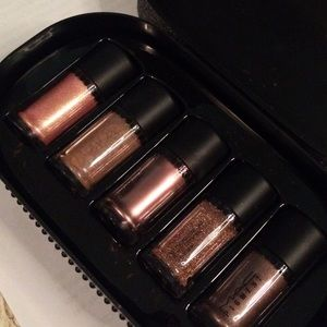 MAC objects of affection bronze pigments + glitter