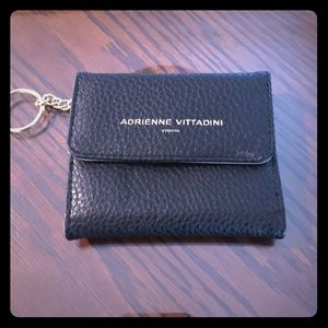 Adrienne Vittadini Studio Coin purse Black Pebble