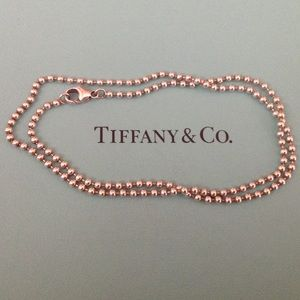 Tiffany & Co. Beaded Chain