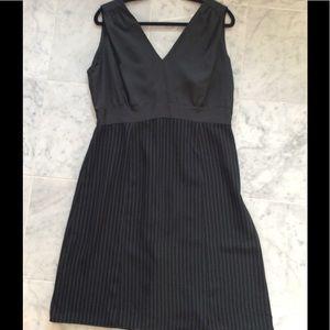 Halston pinstripe Dress sz 14