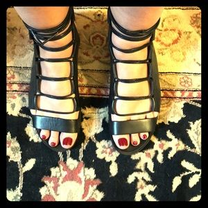 Pierre Hardy Lace up Sandals. Never worn.