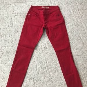 Old Navy Jeans Size 2 Red