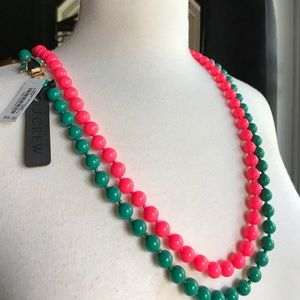 Two Beaded Necklaces by J Crew