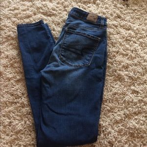 American Eagle high rise jegging jeans