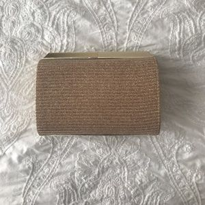 Nine West Gold Clutch