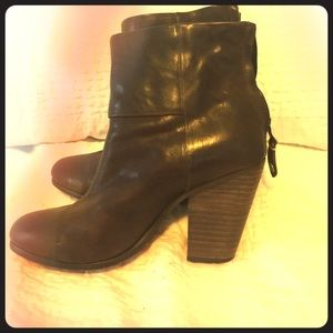 Brown Rag and Bone Newberry booties