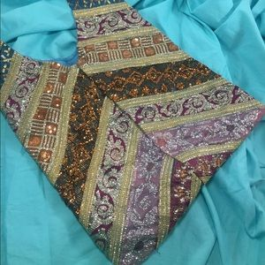 WORLD MARKET Sequined Gypsy Bag