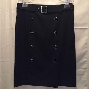 Tailored with a little personality pencil skirt.