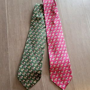 Pair of Brooks Brothers silk ties