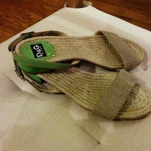 DOLCE & GABBANA rope sandals