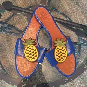 NEW Tory Burch Pineapple Sandals! 🍍