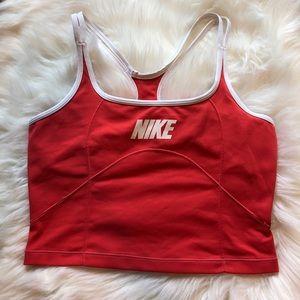 Nike Racerback Crop Top