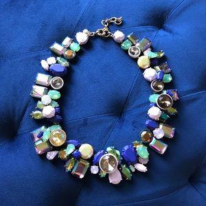 J.Crew Wild Crystal Necklace