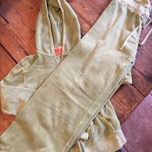 Vintage Juicy Couture track suit